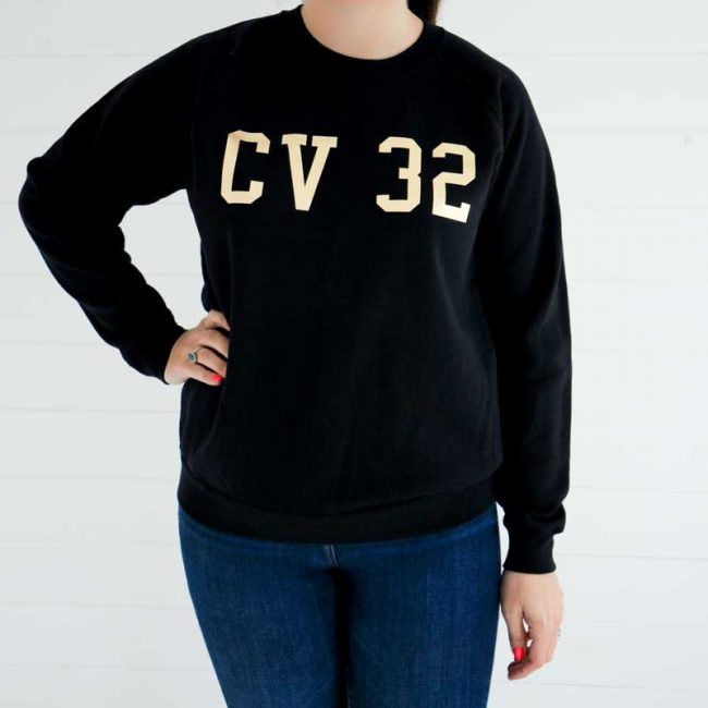 On the Rise Slogan Sweatshirt CV32 Leamington Spa
