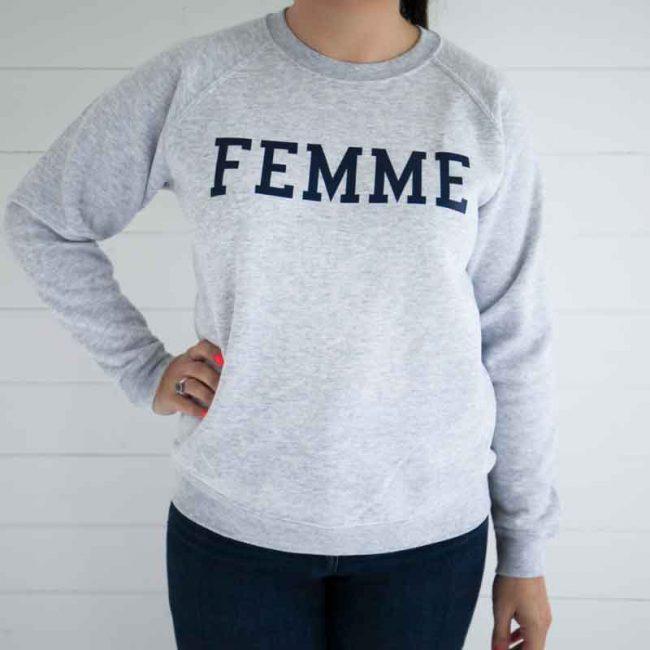 On The Rise Sweatshirt - Grey - Femme