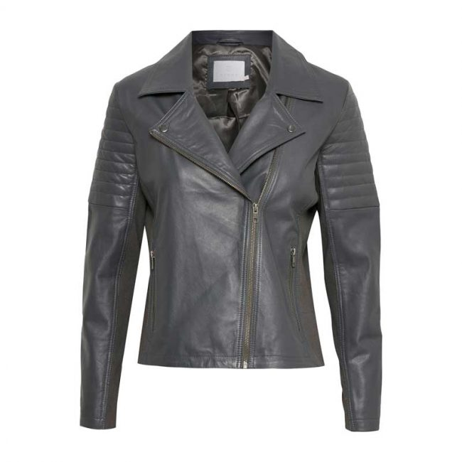 Kaffe Sasha leather jacket