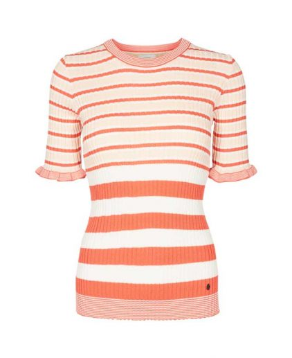 Numph Charley Striped Jumper
