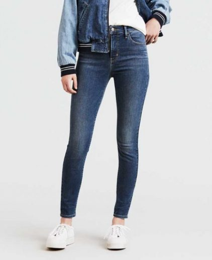 Levi's 720 Hi Rise Super Skinny jeans Pave the Way