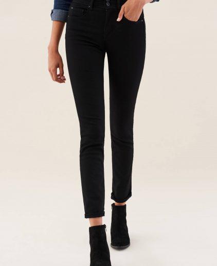 Black Slim Push In Jeans