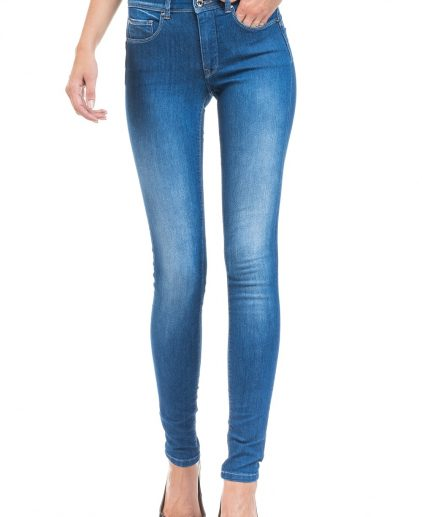 Push In Light Blue Skinny Jeans