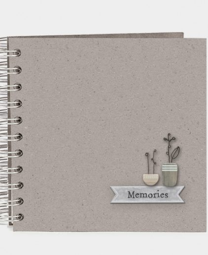 East of India Memories Spiral Bound Book