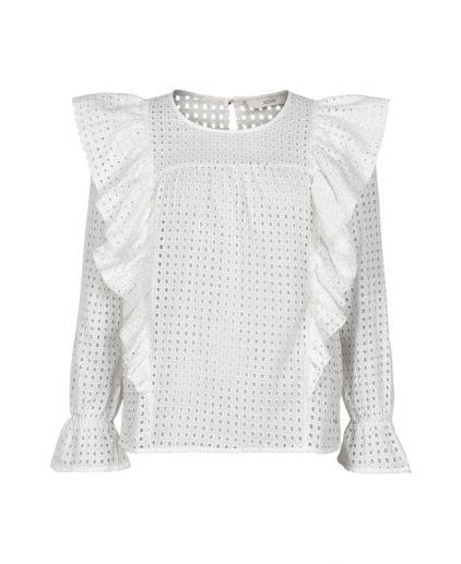 Numph Nubryanna white blouse 7220042