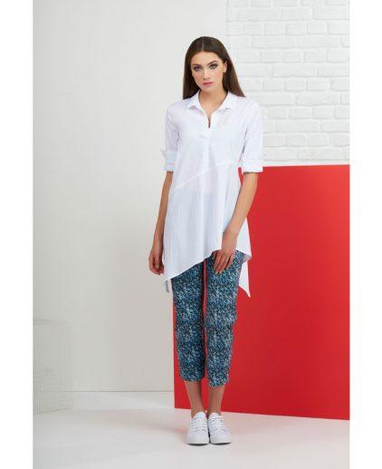 Tunic style white shirt