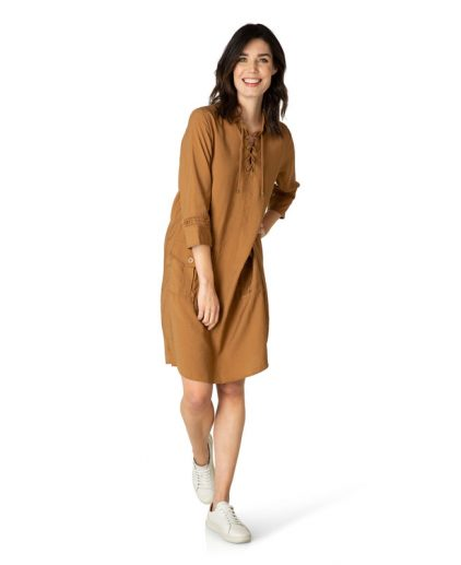 Yest new brown tunic dress 39618