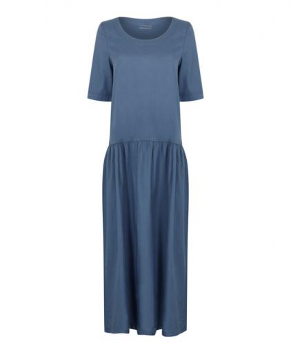 Blue easy to wear dress