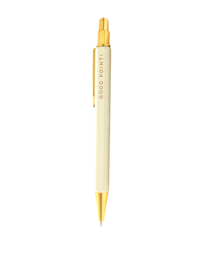 Cream and Golf Mechanical Pencil