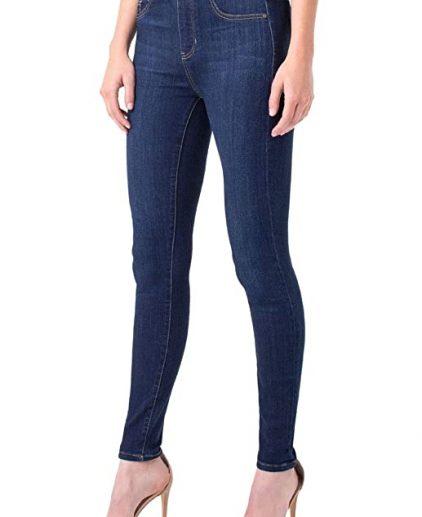 Dark blue Skinny Pull on jeans