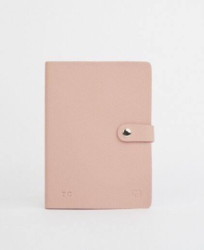 Vegan friendly lined notebook